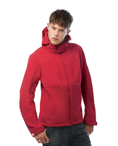 HOODED SOFTSHELL men