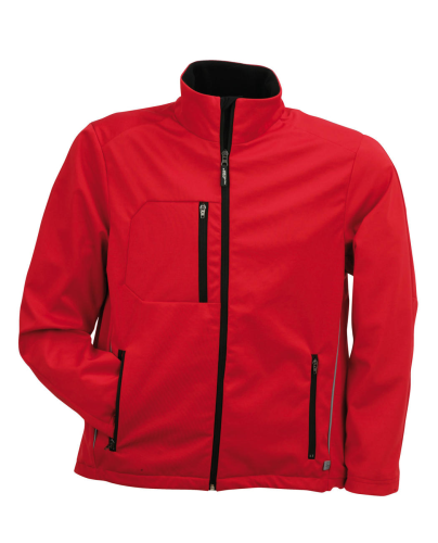 MEN'S RUNNING SOFTSHELL JACKET